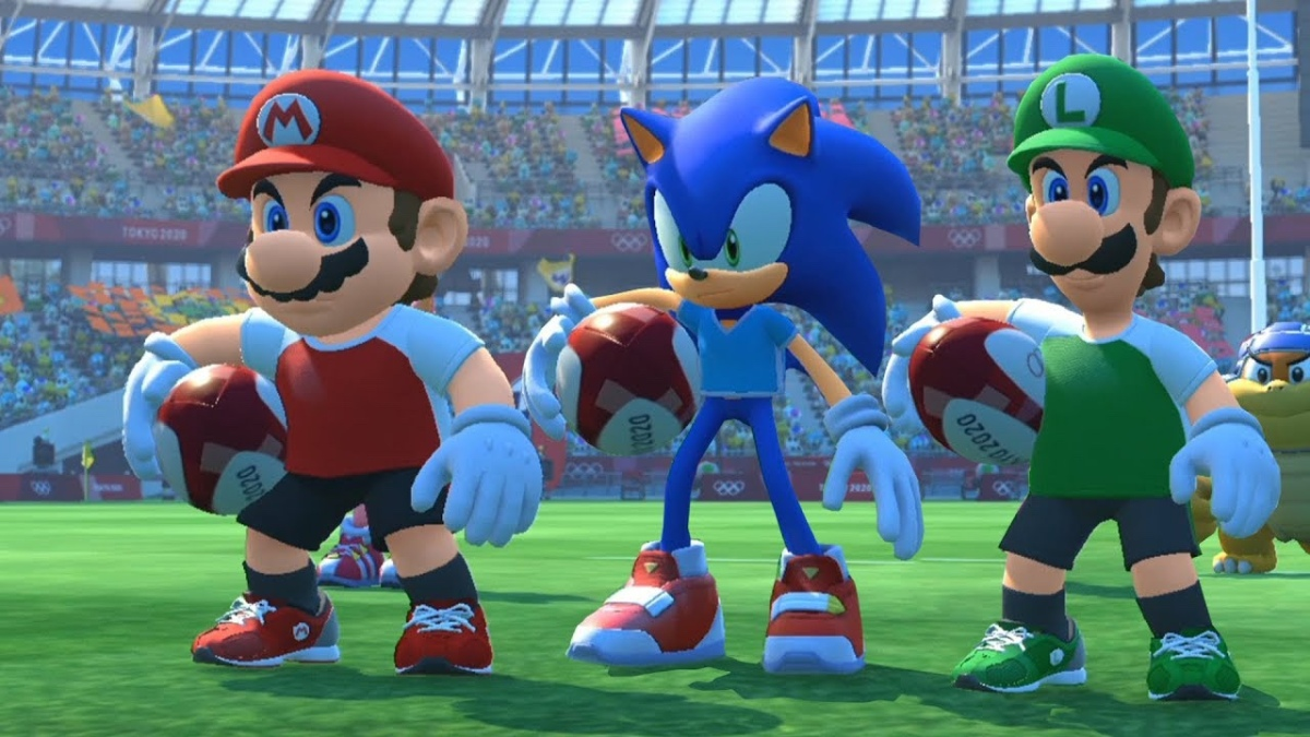 Mario & Sonic Is The Best Rugby Game Ever, Or: Why Rugby GamesFail